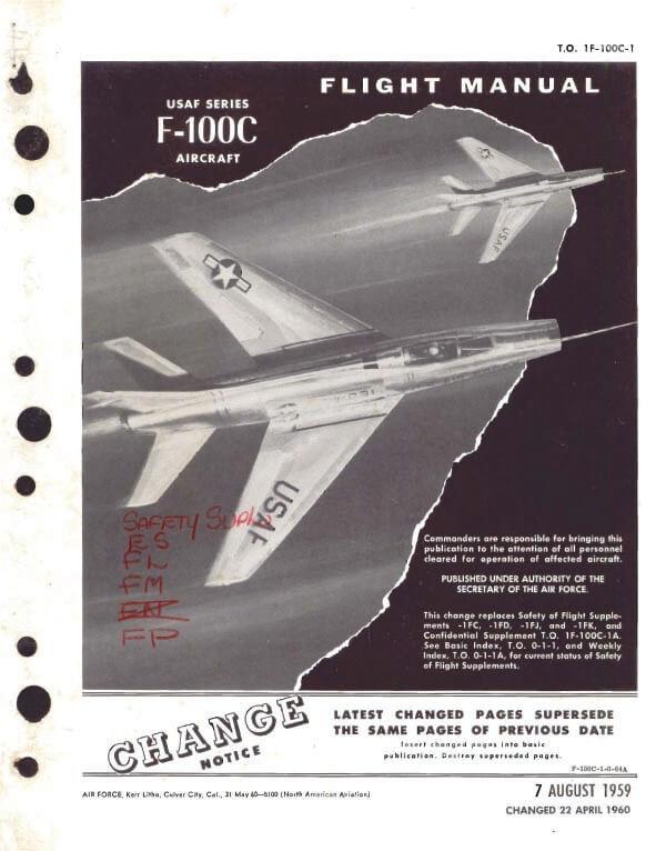 north american f 100 super sabre flight manuals rh flight manuals online com F103 Aircraft Fighter Aircraft