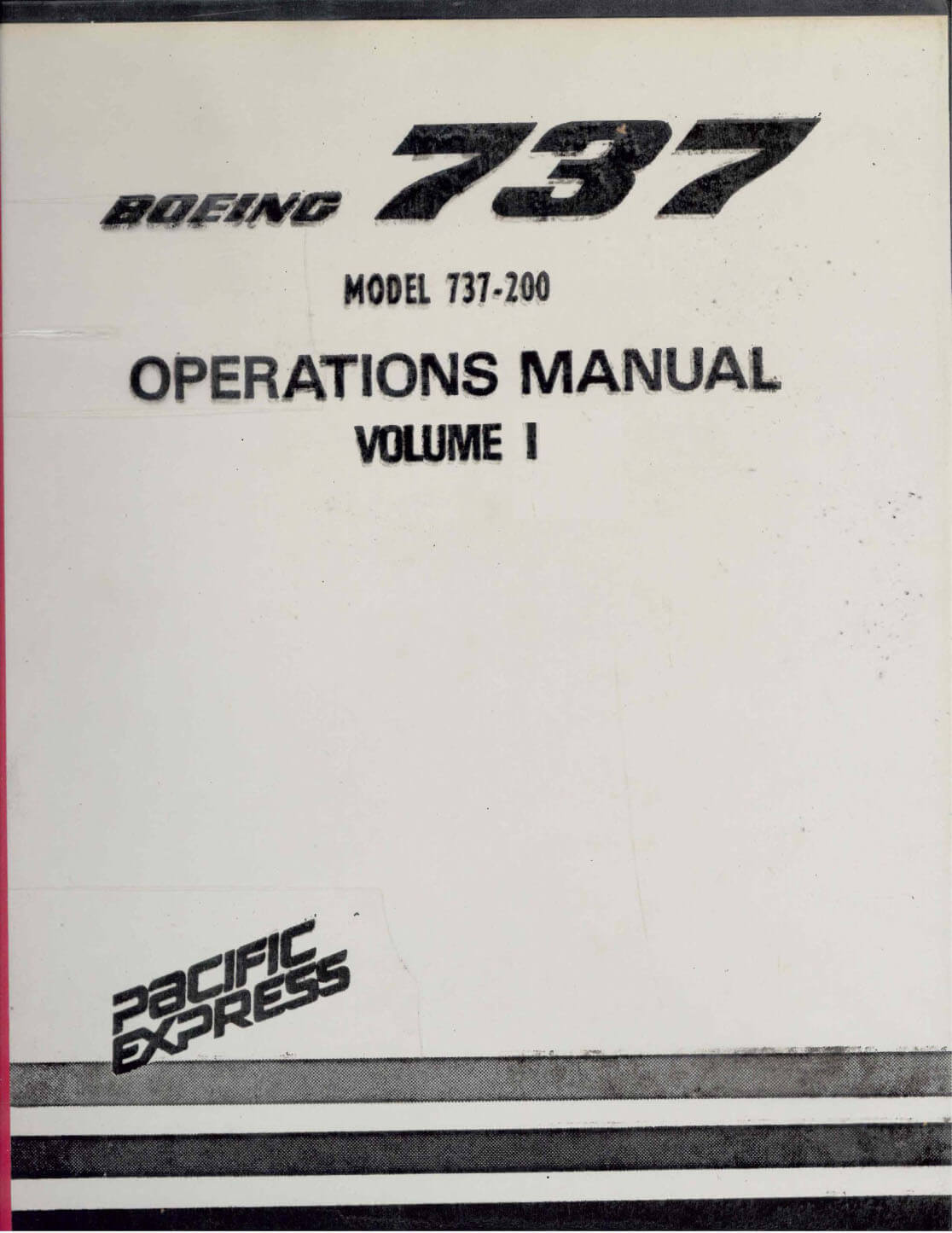 737 200 Aircraft Maintenance Manual