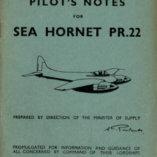 Flight Manual for the De Havilland DH103 Hornet and Sea Hornet