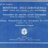 Flight Manual for the Caproni Ca133T