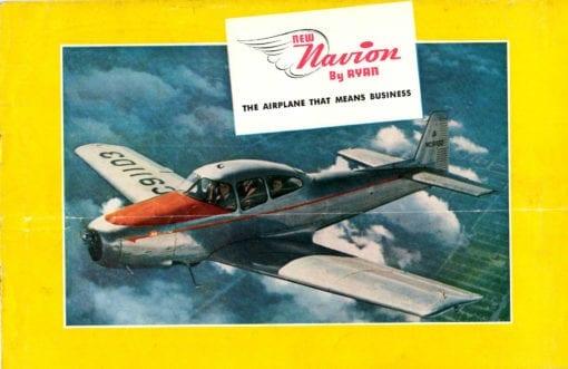 Flight Manual for the North American Navion and Ryan Navion