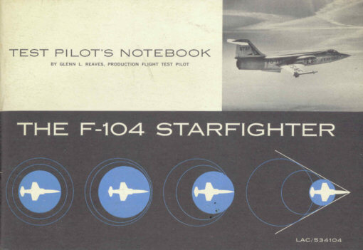 Flight Manual for the Lockheed F-104 Starfighter