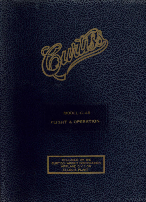 Flight Manual for the Curtiss C-46 Commando