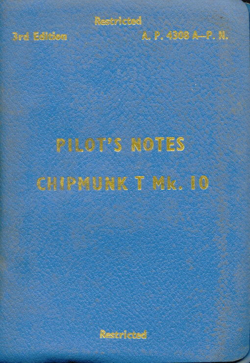 Flight Manual for the De Havilland DHC-1 Chipmunk
