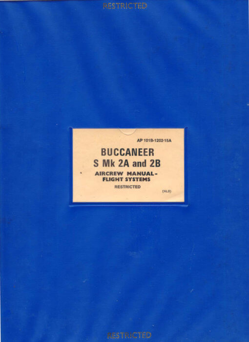 Flight Manual for the Blackburn Buccaneer