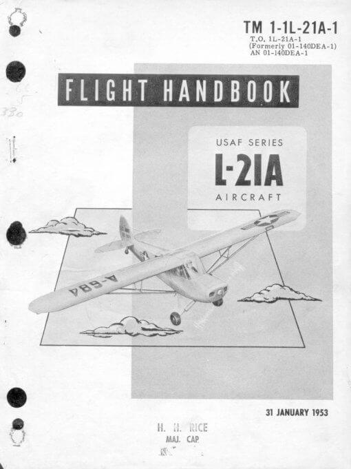 Flight Manual for the Piper Cub Super Cub L-4 L-21 NE-1