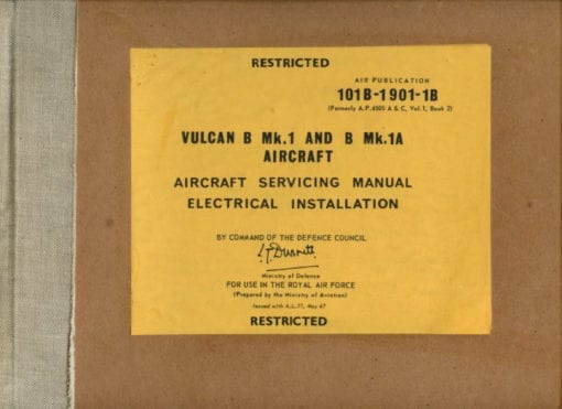 Flight Manual for the Avro Vulcan