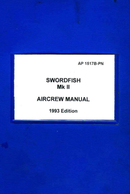 Flight Manual for the Fairey Swordfish