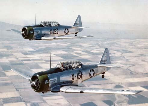 Flight Manual for the North American AT-6 AT-6 Texan Harvard