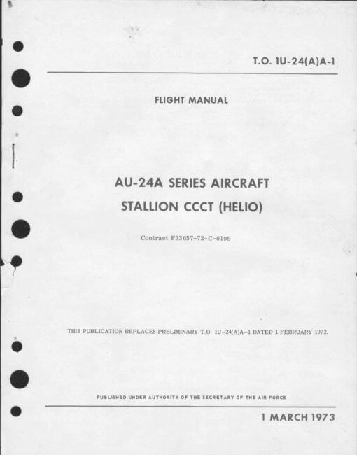 Flight Manual for the Helio AU-24