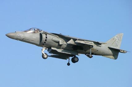 Flight Manual for the McDonnell-Douglas AV-8 Harrier
