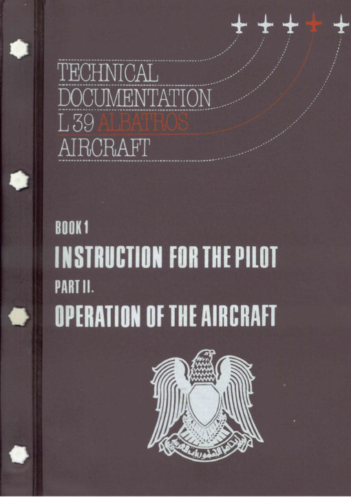 Flight Manual for the Aero Vodochody L39 Albatross