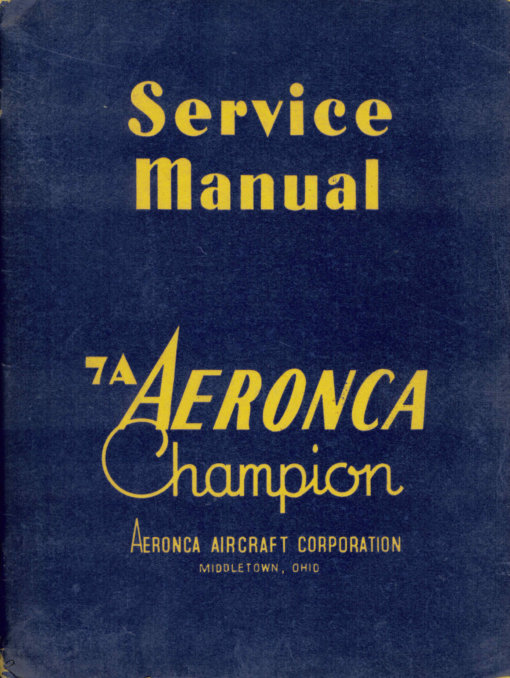 Flight Manual for the Aeronca L-16