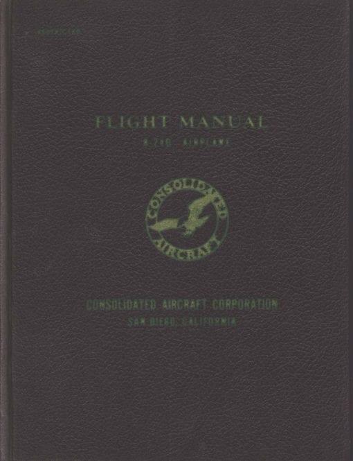 Flight Manual for the Convair B-24 Liberator