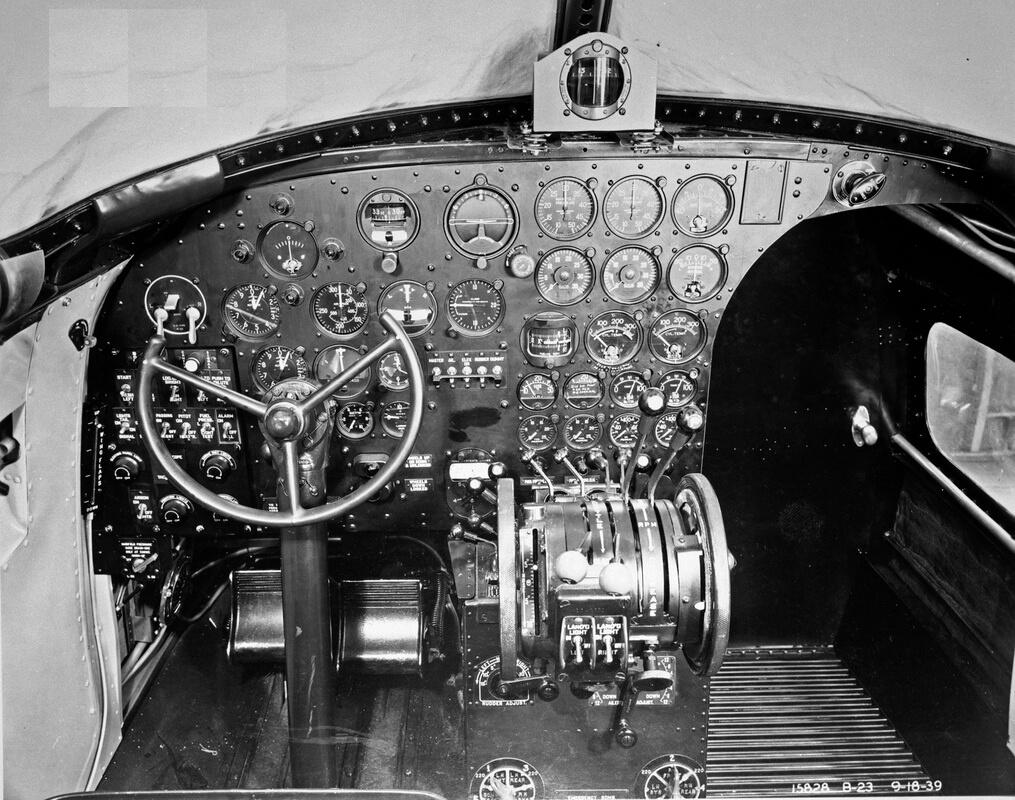 DOUGLAS B-23 DRAGON - Flight Manuals