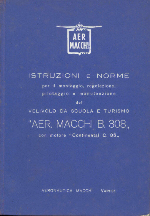 Flight Manual for the Macchi MB.308