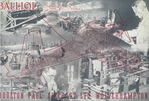 Flight Manual for the Boulton Paul Balliol