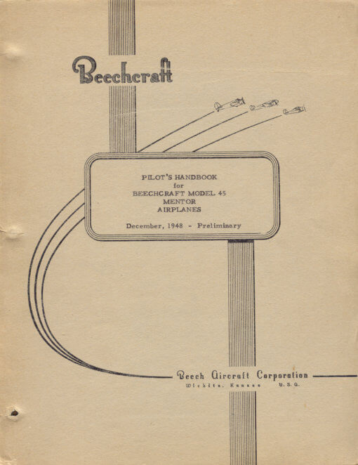 Flight Manual for the Beechcraft T-34 Mentor