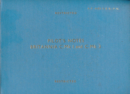 Flight Manual for the Bristol 175 Britannia