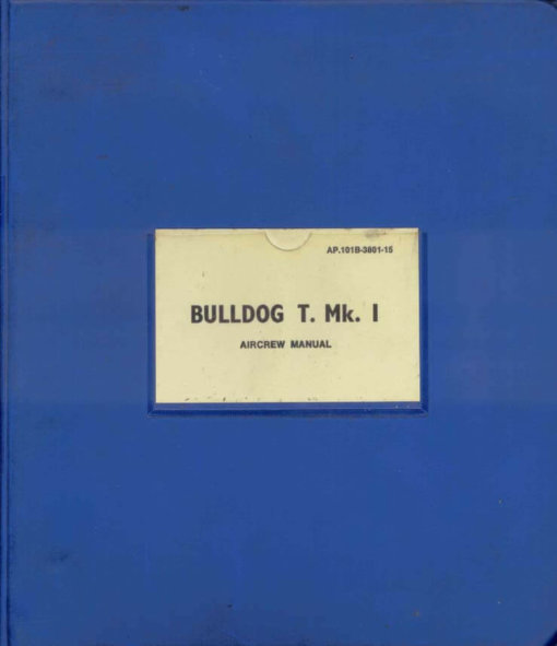 Flight Manual for the Beagle 121 Pup and Beagle 125 Bulldog