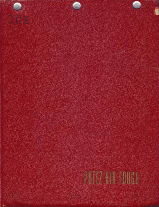 Flight Manual for the Potez Air Fouga CM170 Magister