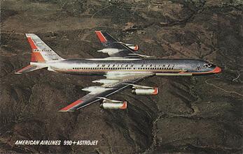 Flight manual for the Convair CV990