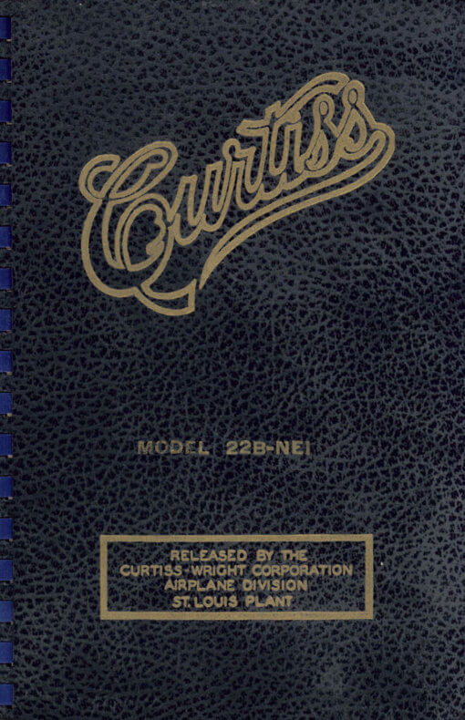 Flight Manual for the Curtiss CW-22 SNC-1 Falcon