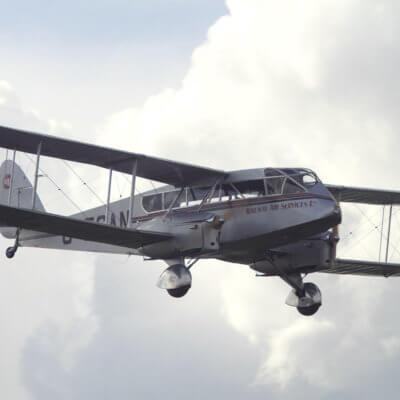 Flight Manual Pilots Notes for the De Havilland DH84 Dragon