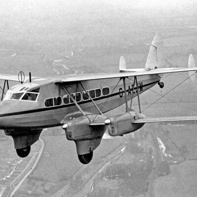 Flight Manual Pilots Notes for the De Havilland DH86 Express