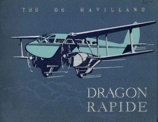Flight Manual for the De Havilland DH89 Dragon Rapide
