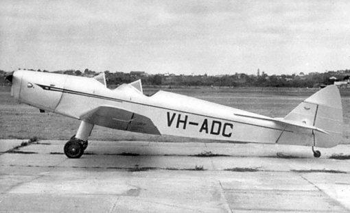 Flight Manual Pilots Notes for the De Havilland DH94 Moth Minor