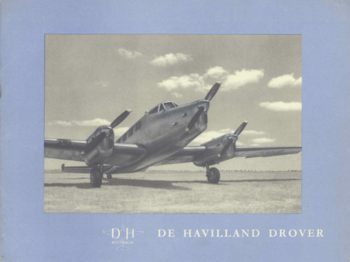 Flight Manual for the De Havilland Australia DHA-3 Drover