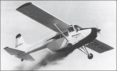 Flight Manual for the Edgar Percival EP.9 Prospector