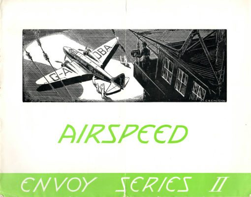 Flight Manual for the Airspeed Envoy