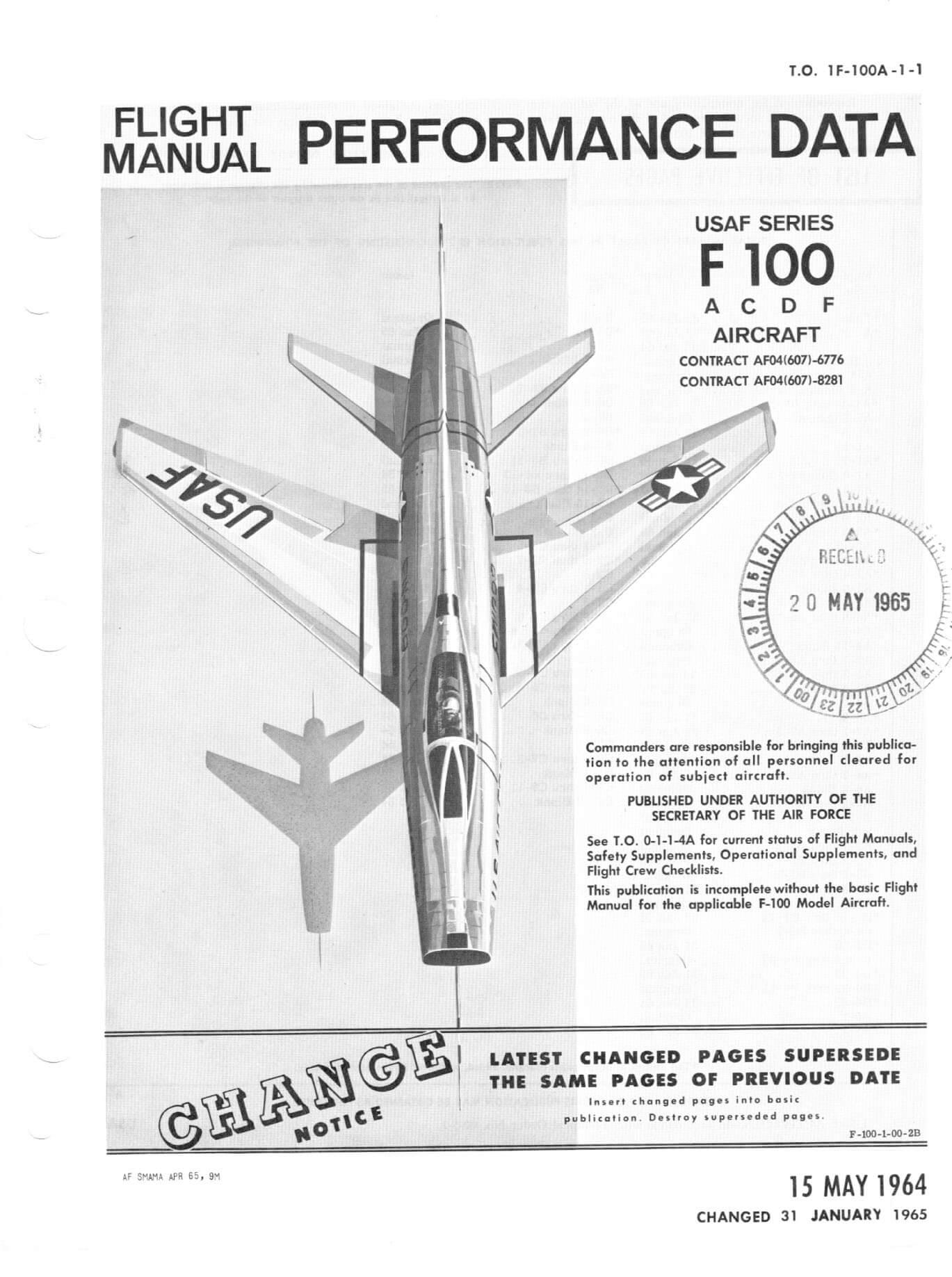 The F-100 rear pilot instrument panel