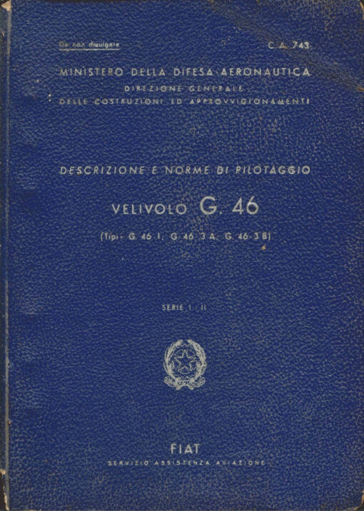 Flight Manual for the Fiat G46