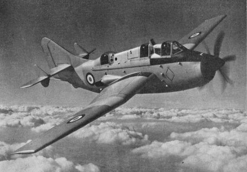 Flight Manual for the Fairey Gannet