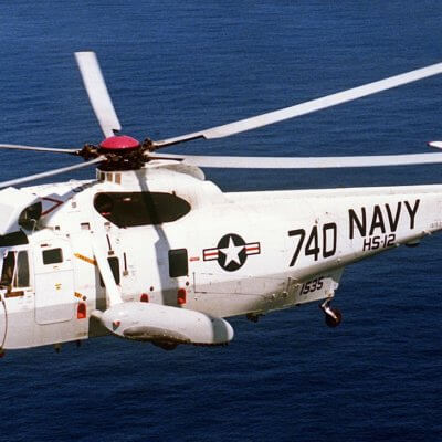 Flight Manual for the Sikorsky H-3 Sea King
