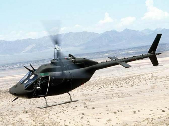 BELL 206 JETRANGER TH 57 OH 58