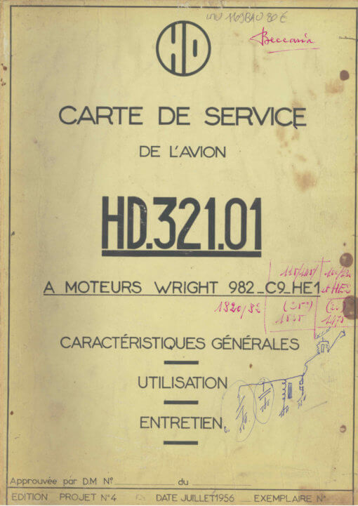 Flight Manual for the Hurel-Dubois HD-32 HD-34