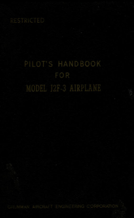 Flight Manual for the Grumman J2F Duck