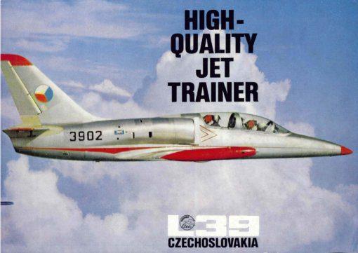 Flight Manual for the Aero Vodochody L-39 Albatross