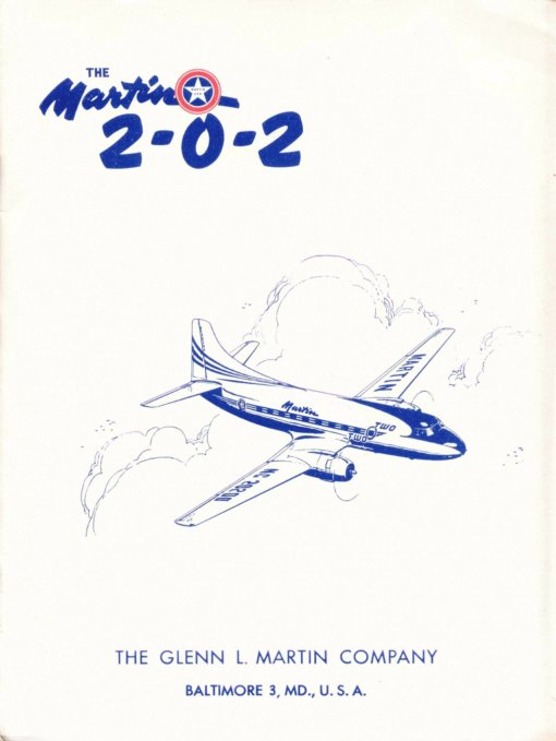 Flight Manual for the Martin 2-0-2