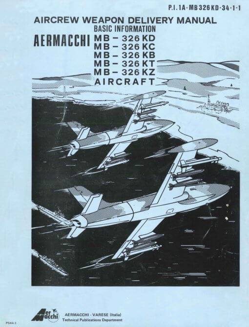 Flight Manual for the Aermacchi Macchi MB-326