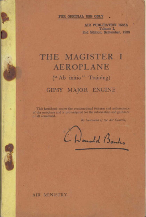 Flight Manual for the Miles M2 Hawk and M14 Magister