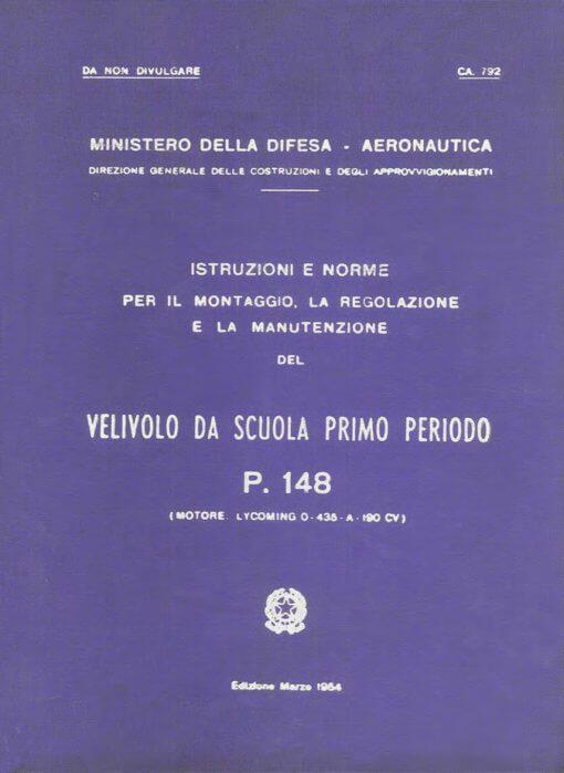 Flight Manual for the Piaggio P148