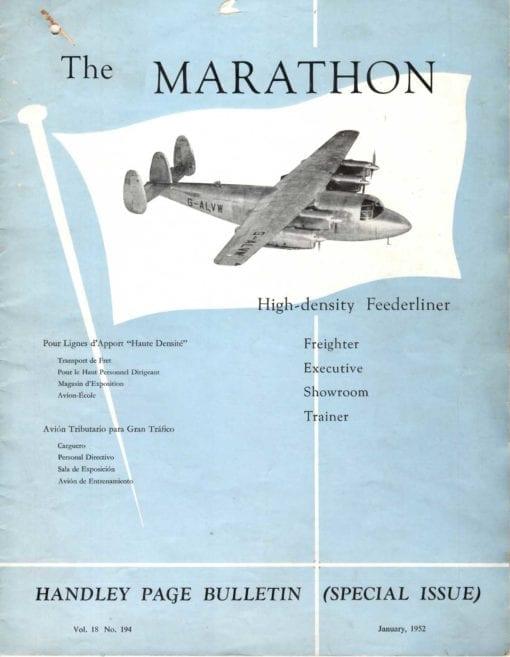 Flight Manual for the Miles M60 Marathon Handley-Page HPR.1 Marathon