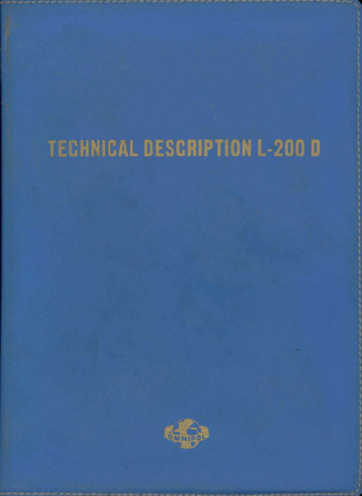 Flight Manual for the LET L200 Morava