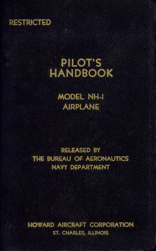 Flight Manual for the Howard GH-1 UC-70 DGA-15