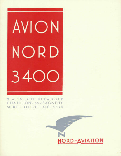 Flight Manual for the Nord 3400